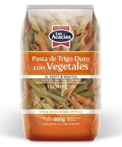 Pasta de Trigo Duro con Vegetales Trompetín